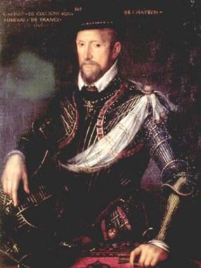 Admiral-Gaspard-II-deColigny.AD1519-AD1572