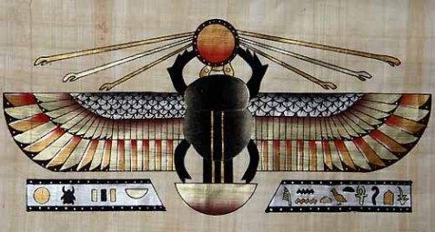 Egyptian-DungBeetle.scarab-idol-Khepri-poster